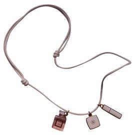 Chanel-Necklaces-Beige