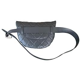 Chanel-Chanel waist bag-Black