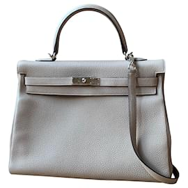 Hermès-Kelly 35-Grey