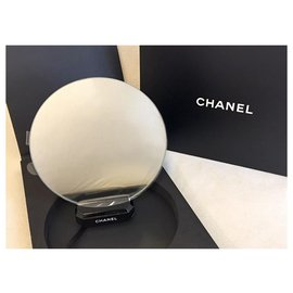 Chanel-CHANEL MAKEUP MIRROR DISPLAY on STAND-Blue