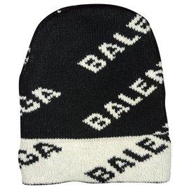 Balenciaga-Hats Beanies-Black