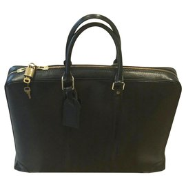 Louis Vuitton-document holder-Black