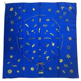 Hermès-Clips of Hermes-Blue