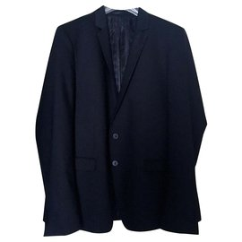 Karl Lagerfeld-Blazers Jackets-Black
