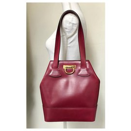 Céline-Handbags-Red