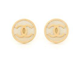 Chanel-cc golden head-Golden