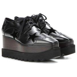 Stella Mc Cartney-chaussures stella mcCARTNEY NEW-Noir