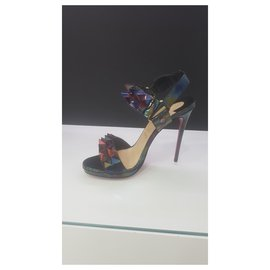 Christian Louboutin-CHRISTIAN LOUBOUTIN 37 NEW-Multicolore