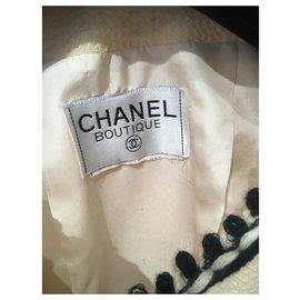 Chanel-Skirt suit-Black,White,Eggshell