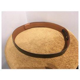 Hermès-Belts-Black,Golden