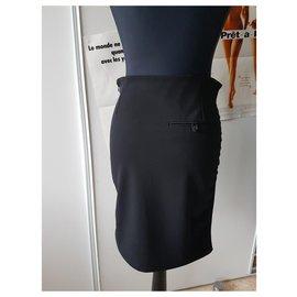 Balenciaga-Skirts-Black