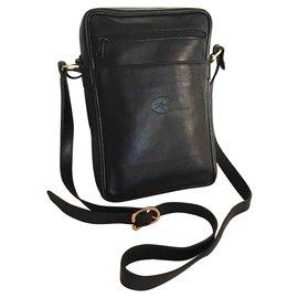 Longchamp-Bags Briefcases-Black