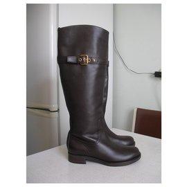 Louis Vuitton-Boots-Brown