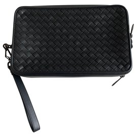Bottega Veneta-Bottega Veneta travel pouch-Black
