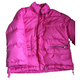 Bonpoint-Girl Coats outerwear-Pink