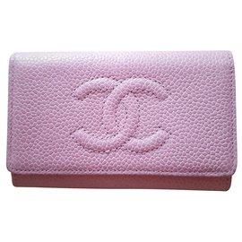 Chanel-Bourses, portefeuilles, cas-Rose