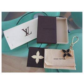 Louis Vuitton-Charmes de sac-Marron