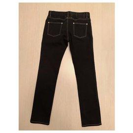 Maison Martin Margiela-Slim Jeans Dark Blue Maison Martin Margiela-Navy blue