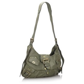 Mulberry-Mulberry Green Leather Joni-Green,Dark green