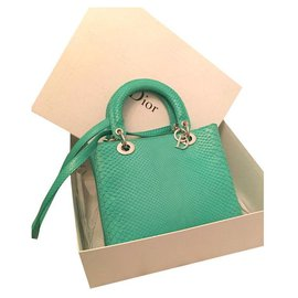 Dior-Handbags-Green