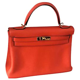 Hermès-Kelly 32-Orange