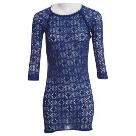 Isabel Marant Etoile-Robes-Bleu