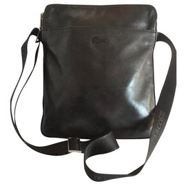 Lacoste-Bags Briefcases-Black