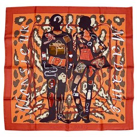 Hermès-Scarves-Multiple colors