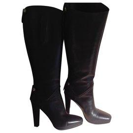 Hermès-Hermes Horse Boots-Black