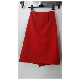Céline-Skirts-Red
