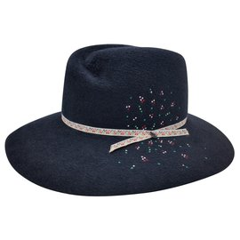 Maison Michel-Hats-Navy blue