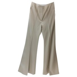 Céline-Pants, leggings-Beige