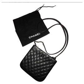 Chanel-Chanel clutch  (uniform)-Black