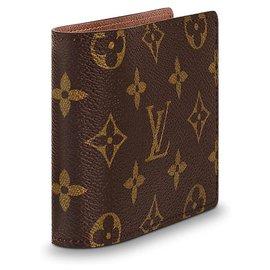 Louis Vuitton-Louis Vuitton Multiple Man Wallet-Brown