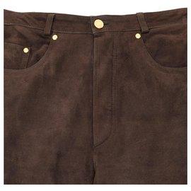 Hermès-URBAN COWGIRL FR40/42-Dark brown