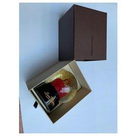 Louis Vuitton-Snowball with the Alma handbag-Red