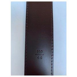 Louis Vuitton-Men's Belt-Dark brown