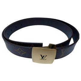 Louis Vuitton-Louis Vuitton Men's Belt-Brown