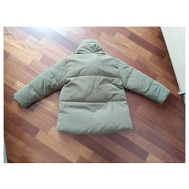 Zara-Puffy jacket-Khaki