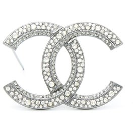Chanel-CC SHADOW RHINESTONE-Silvery