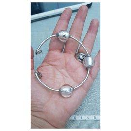Chanel-Chanel bracelet-Silvery,Grey