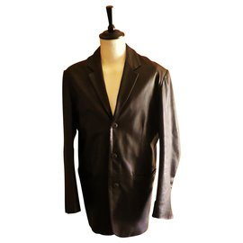 Givenchy-jacket GIVENCHY size L very good condition-Dark brown