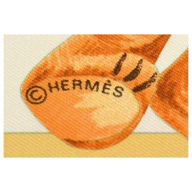 Hermès-Hermès scarf-Orange