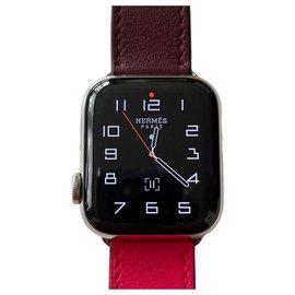 Hermès-Apple Watch x Hermes Series 4-Pink,Orange
