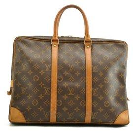 Louis Vuitton-Louis Vuitton Porte document-Marron