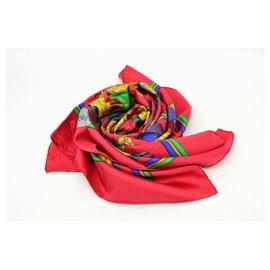 Hermès-Hermès scarf-Red