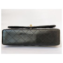 Chanel-Timeless classic medium lined flap-Black