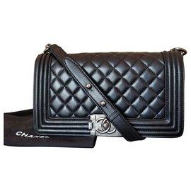 Chanel-boy medium-Black