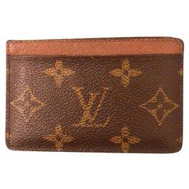 Louis Vuitton-Louis Vuitton card holder-Brown