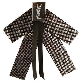 Yves Saint Laurent-Pins & brooches-Black